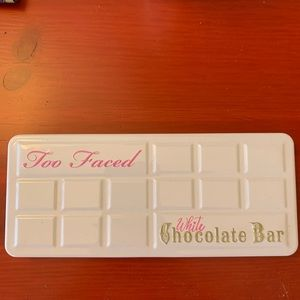 Rare Two Faced White Chocolate Bar Palette
